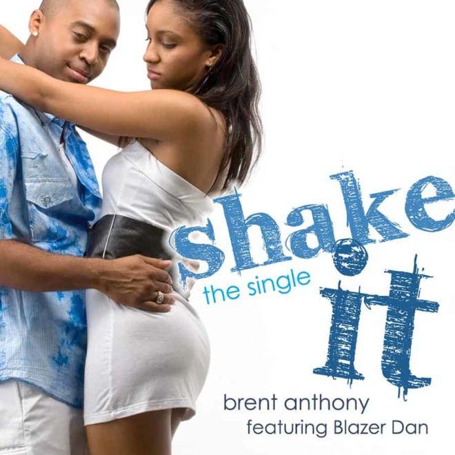 CD cover for Brent Anthony, soca singer.
