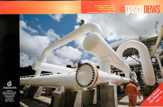 Cover of Gasco News for October 2007.