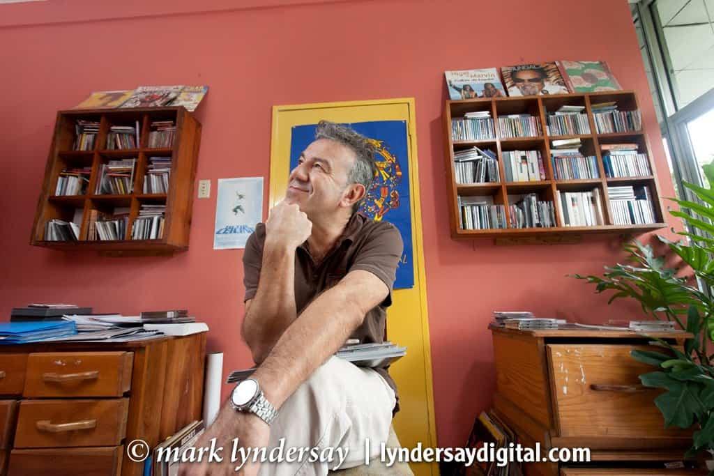 Jean-Michel Gibert of TriniTunes.com