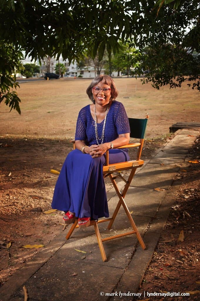 Gail Bindley-Taylor photographed at Flagstaff Hill