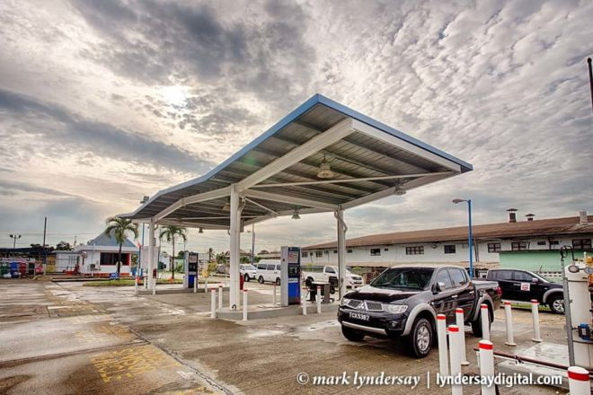NGC CNG Filling Station