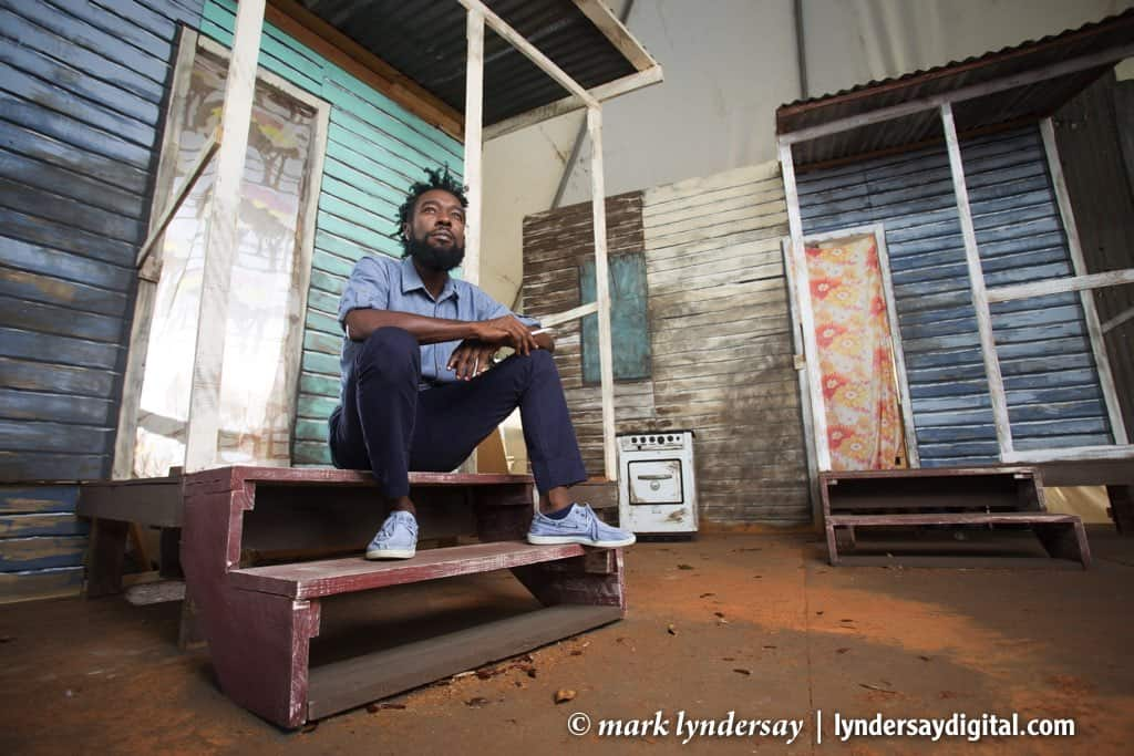 Kurt Allen photographed for Caribbean Beat, 2015