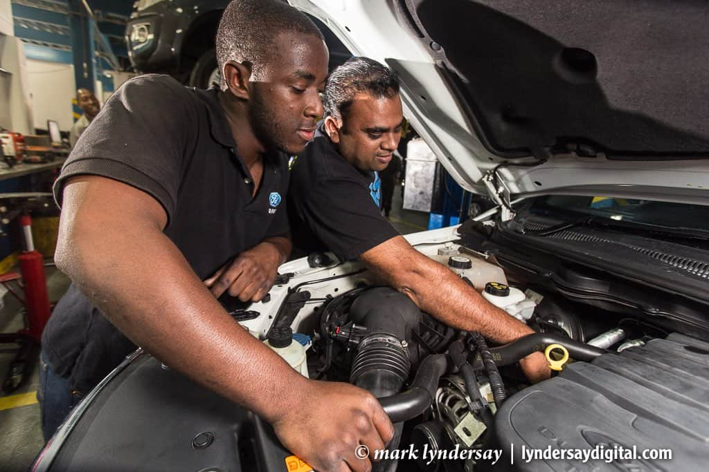 Service and maintenance, Ford Dealership, Port of Spain