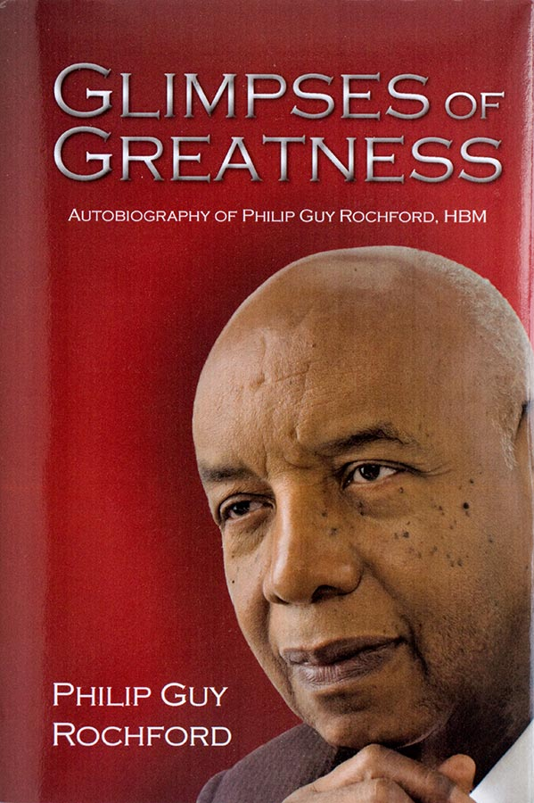 Portrait, Philip Rochford's autobiography, Glimpses of Greatness