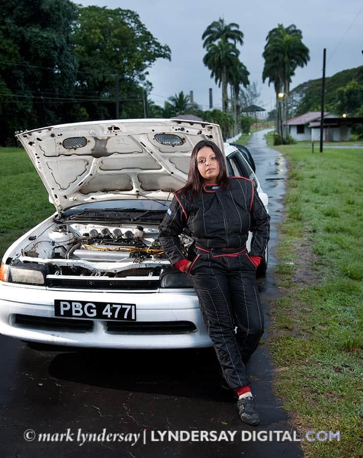 Sarah-Jane_Gopaul, race car driver