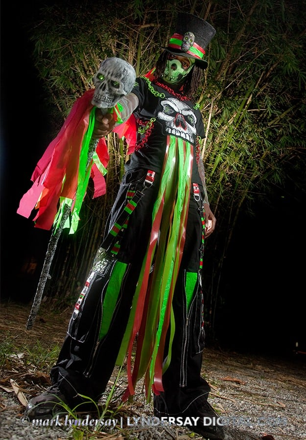 Skullduggery costume, promotional image