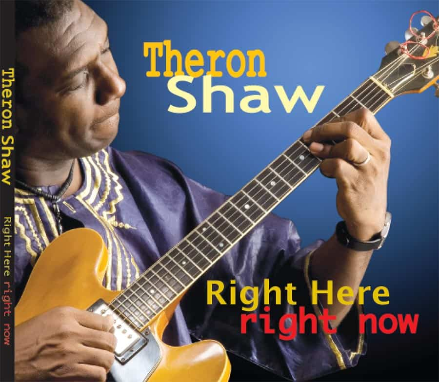 Theron Shaw's 2008 release. Artwork by Richard Joseph.