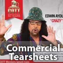Edwin Ayoung, COTT Advertisement