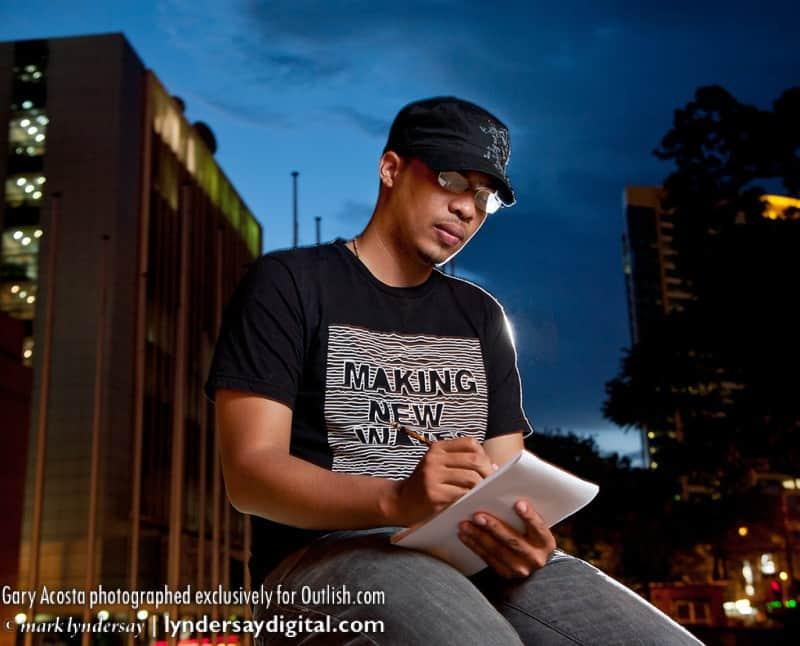 Gary Acosta, Spoken word poet