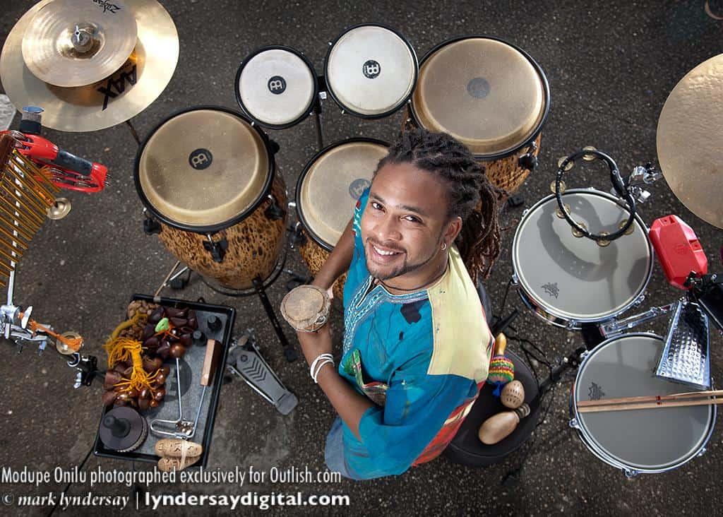 Modupe Onilu, percussionist